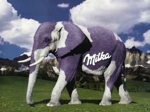 Milka-elefante