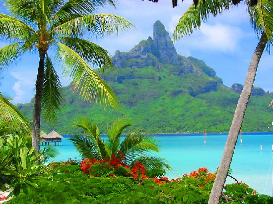 Bora Bora, Society Isllands