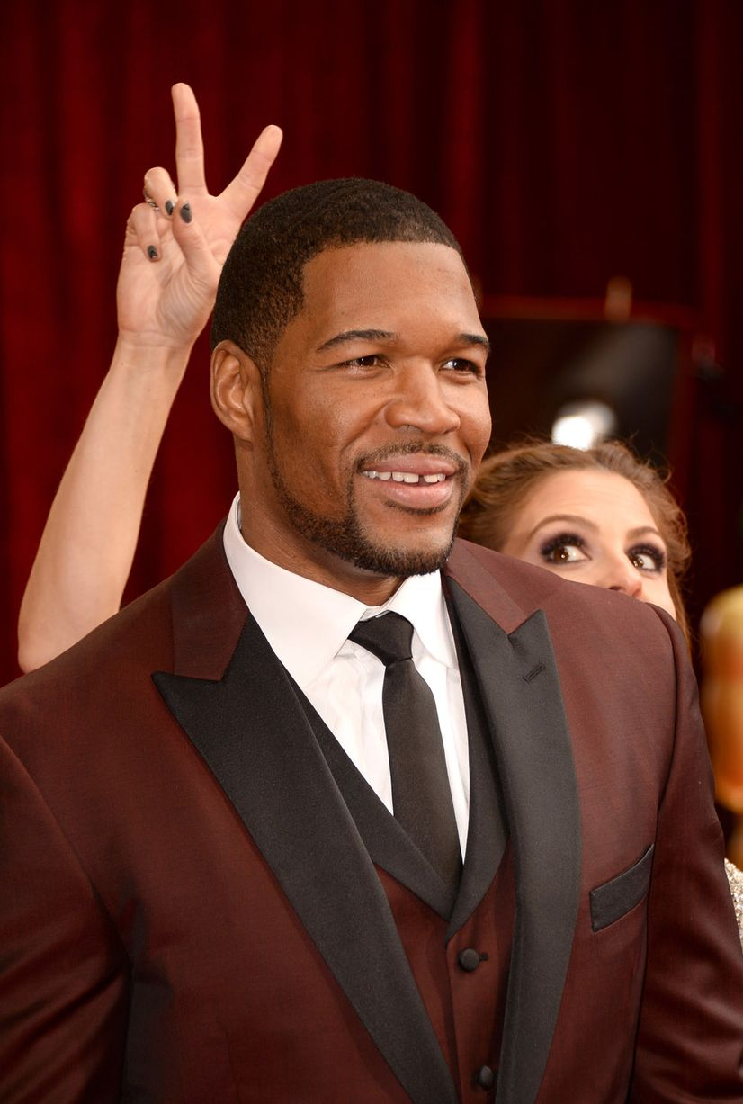 Michael-Strahan-Maria-Menounos_Getty