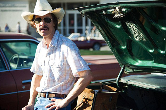 Matthew McConaughey as Ron Woodroof in Dallas Buyer's Club