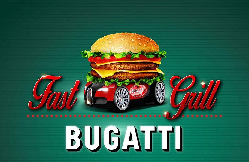 fast food bugatti