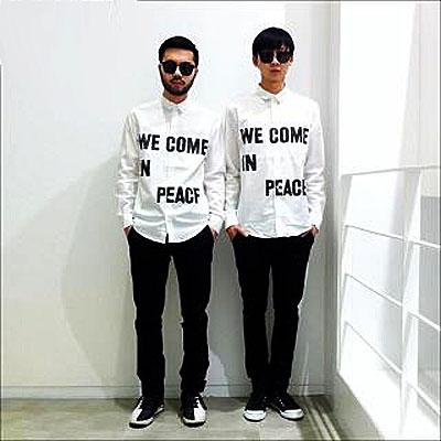 we come in peace_naslovna