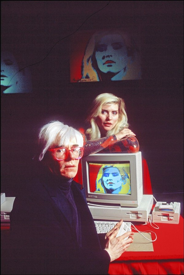 Andy Warhol and Debbie