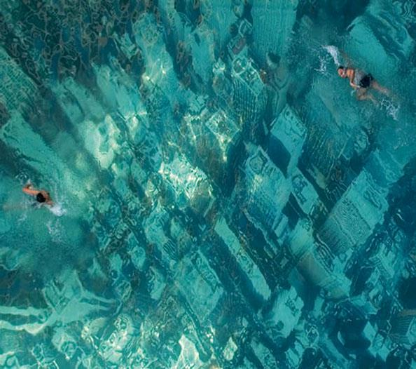 Amazing (and Scary) Pool Floor Design