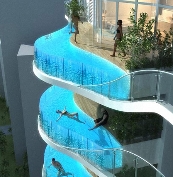 Hotel With Private Pool for Each Room