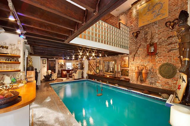 Indoor Pool in Manhattan Apartment