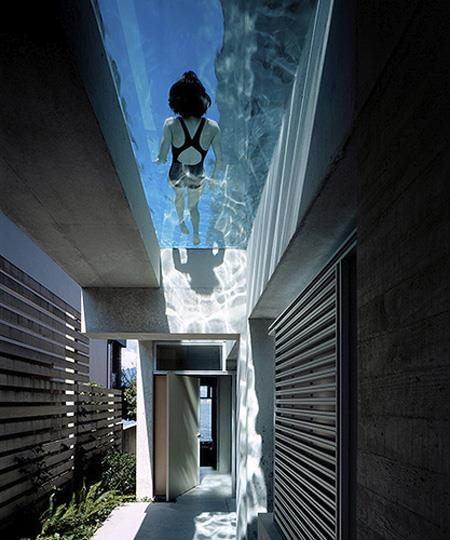 Overhead Swimming Pool