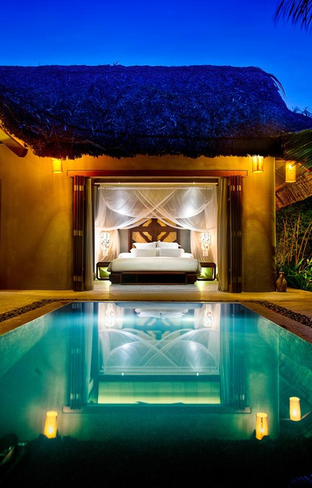 Room Overlooking Pool