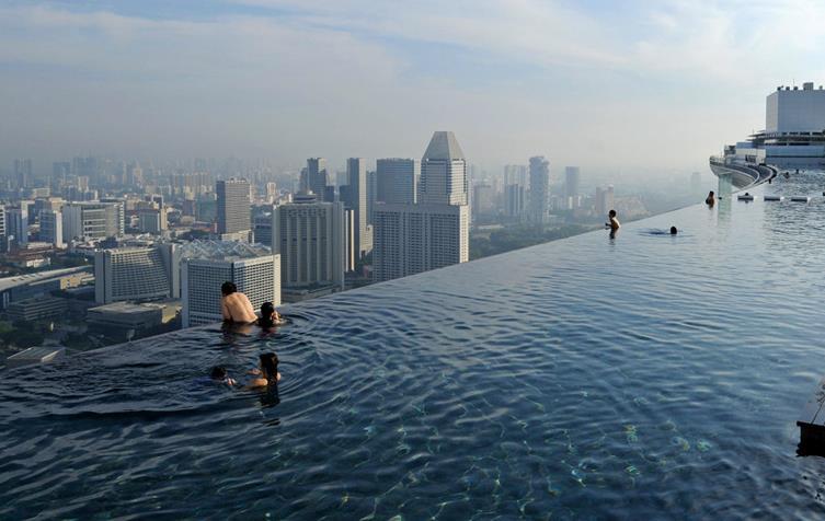 Singapore Sky Park Pool