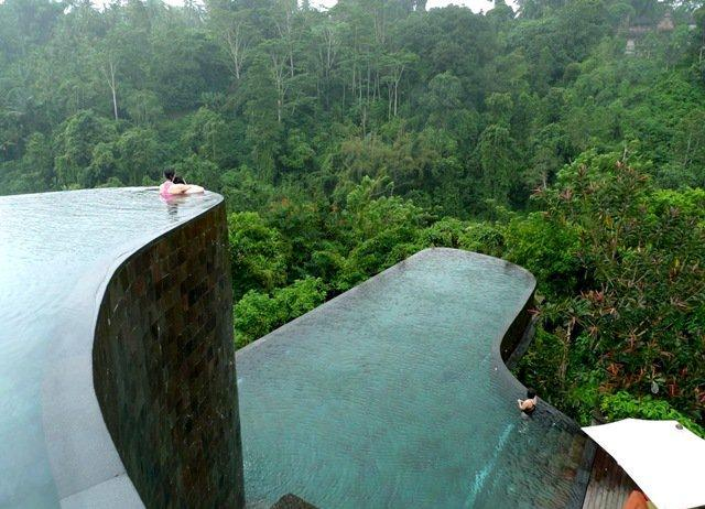 The Pools at the Bali Ubud Hanging Hotel