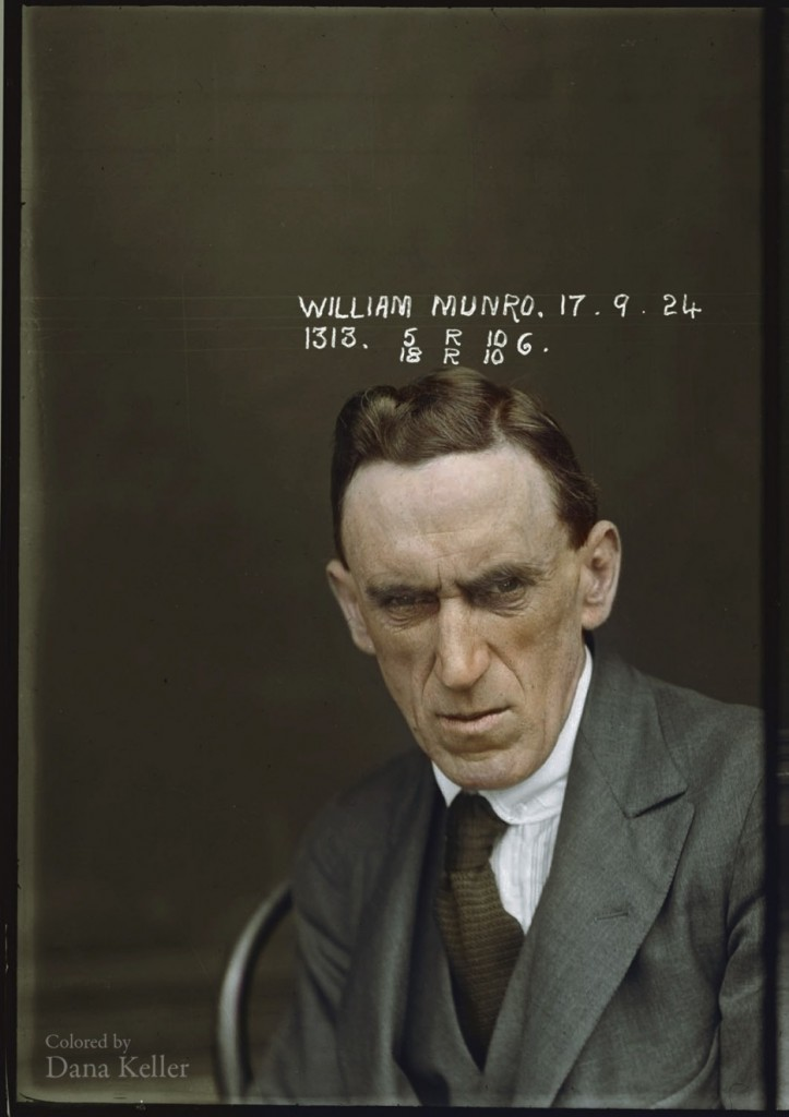 1920s Australian mugshots from the New South Wales Police Dept