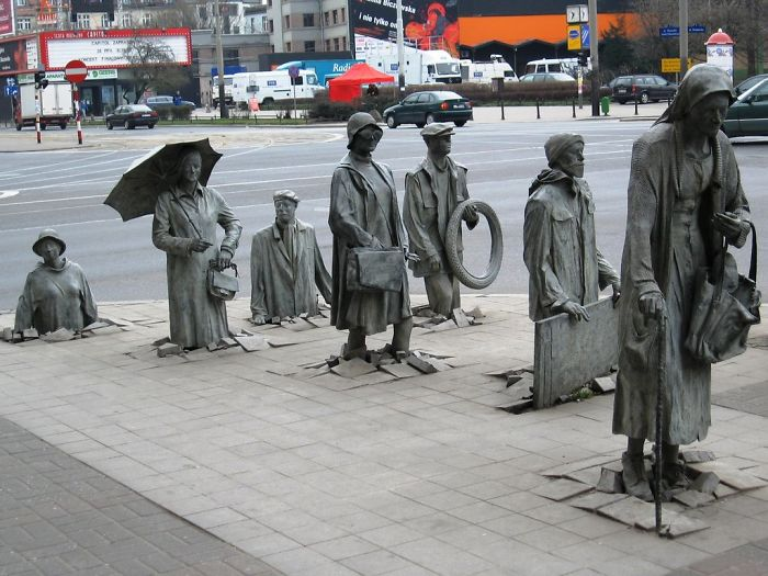 #3 Sculpture Of Anonymous Passer-by, Wroclaw, Poland
