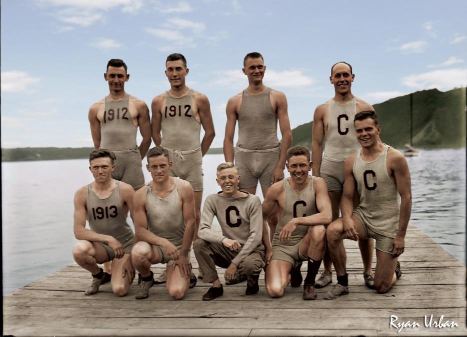 Cornell Rowing Team 1907