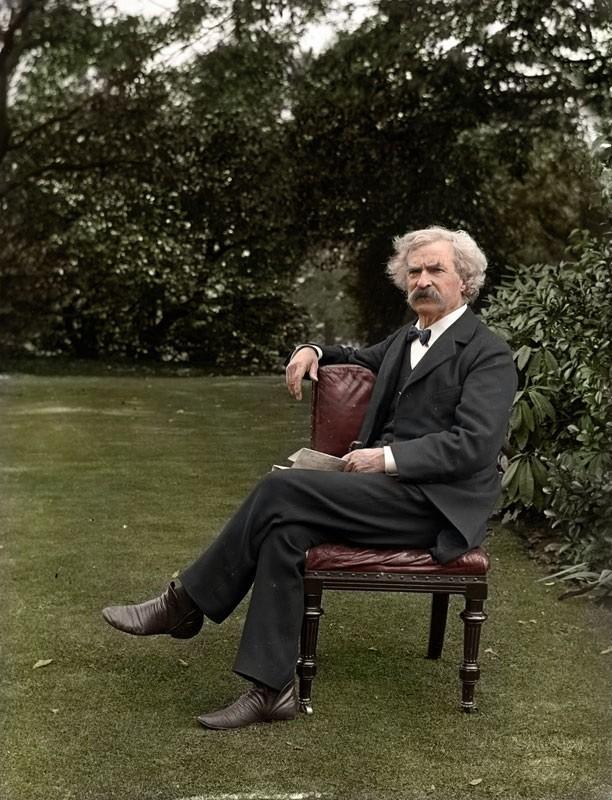 Mark Twain in 1900