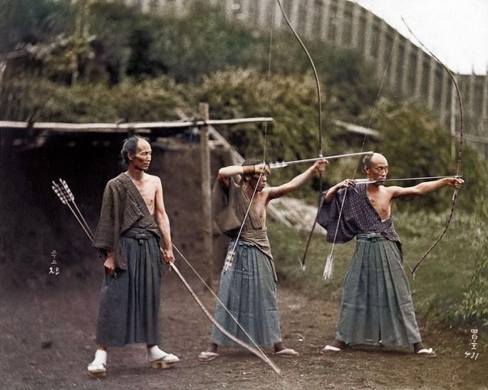 Samurai Training 1860