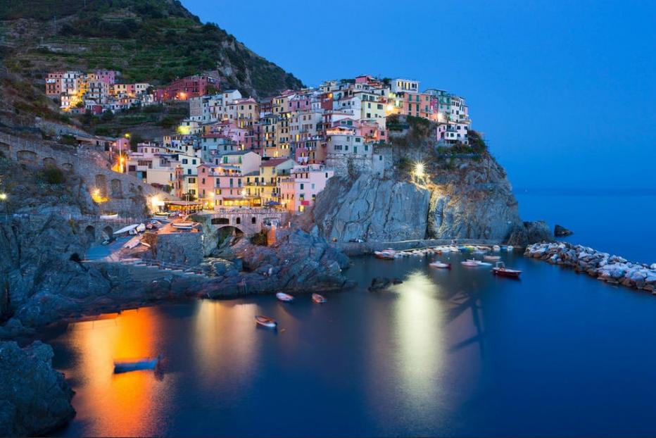 4. Cinque Terre, Italy