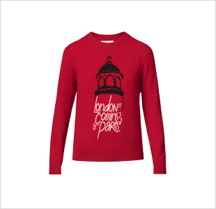 BURBERRY -  London is coming to Paris  sweater - € 395