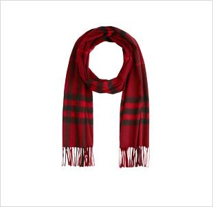 BURBERRY - Pillar Box  scarf - € 395.
