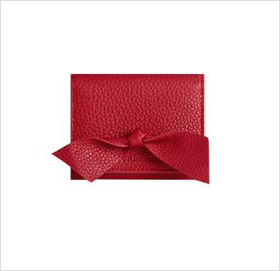 BURBERRY -  Ribbon Knot  card case - € 225