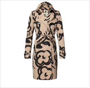 BURBERRY - The  English Rose  trench-coat - € 1595
