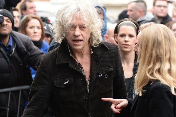 Bob Geldof повикан како домаќин на музичарите на  снимање на новиот сингл