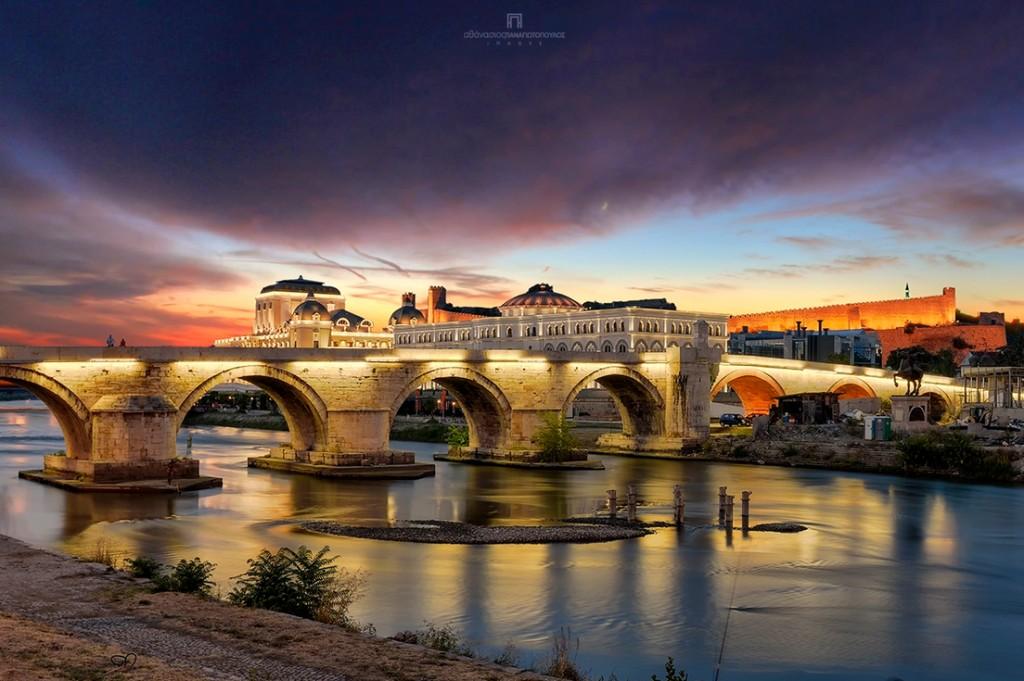Sakis Panagiotopoulos - Old stone bridge