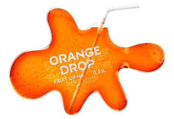 12. Orange Drop Fruit Juice