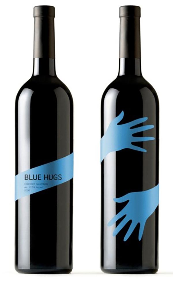 6. Blue Hugs Wine