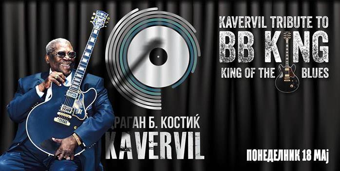 bb king kavervil