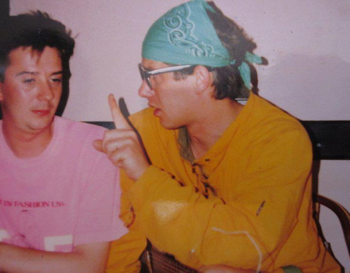 Пиже и Јас, пре точно 25 години, локација Охрид