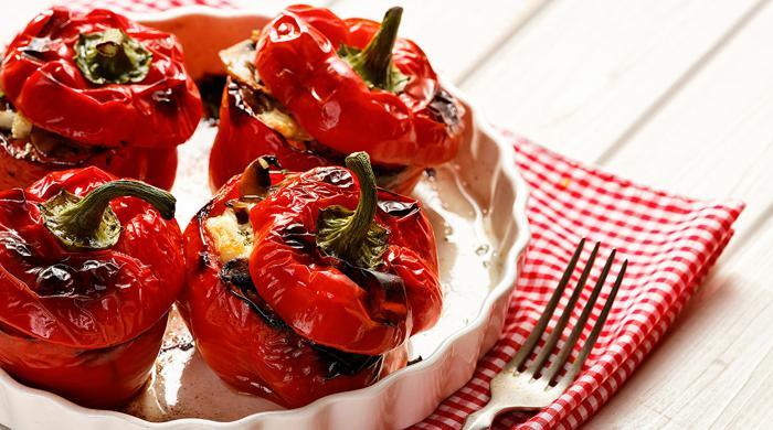 Полнети црвени пиперки