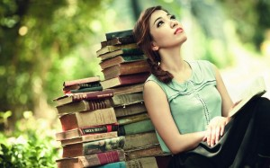 bookshop-girl-thinking-vintage-hd-wallpaper-asia-bokeh