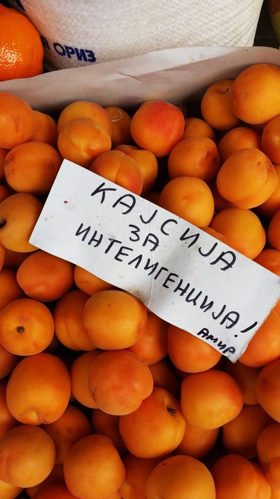 Кајсии, пазар Тафталиџе