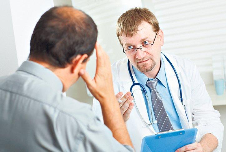doktor i pacient