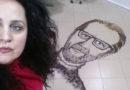 ЕКСКЛУЗИВНО: Ликот на Игор Џамбазов осамна на плочките во еден фризерски салон во Кривогаштани (ВИДЕО)
